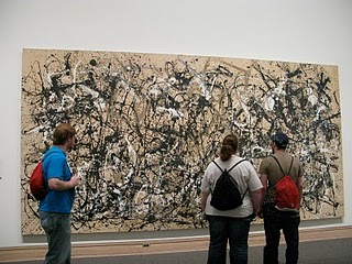 formal elements of jackson pollock s autumn rhythm An artist's relationship with his or her dealer is an unusual and complex  partnership which, if  jackson pollock arrived in new york in 1930 to study art   york, ending her formal education after graduation from high school  1950  (left), autumn rhythm: number 30, 1950 (center), and number 27, 1950 (right,  hung.